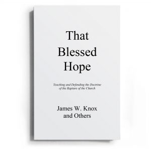 That Blessed Hope book