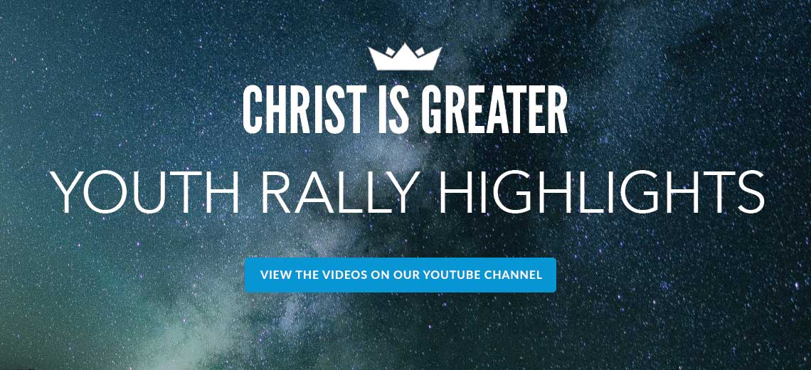 Youth Rally Highlights on YouTube