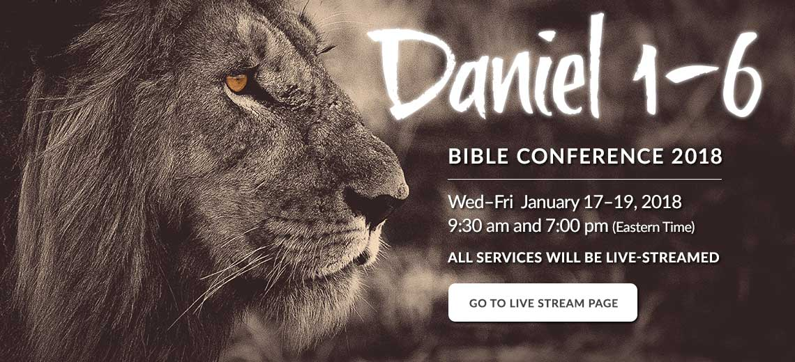 Bible Conference Live Stream