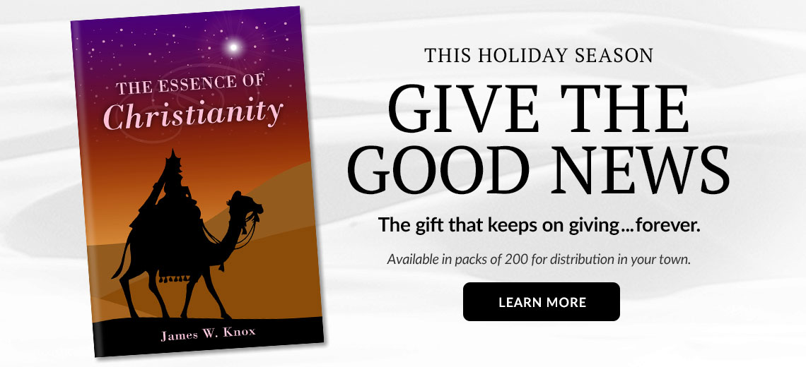 The Essence of Christianity Holiday Gospel Tract