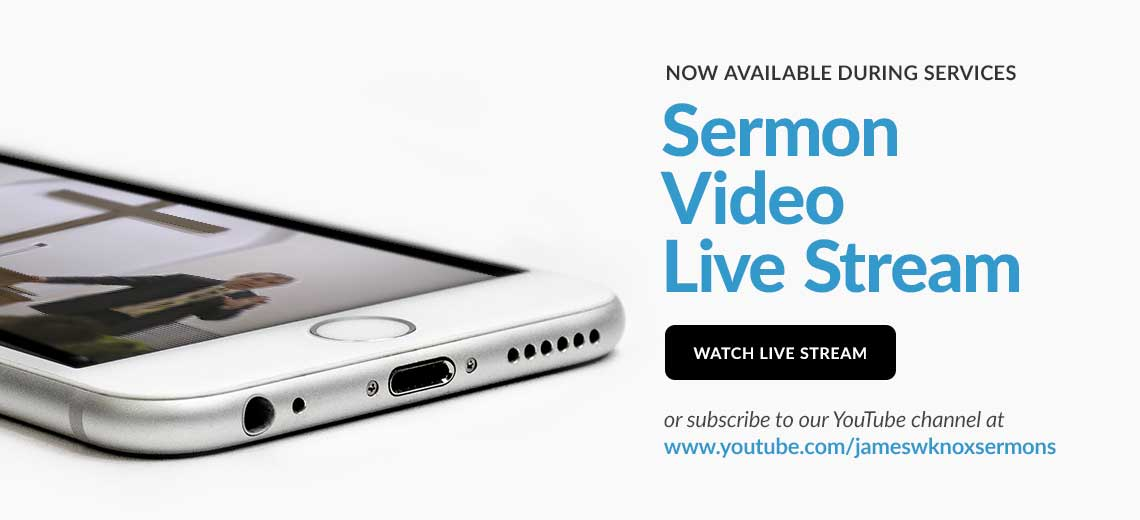 Sermon Live Stream now available during services