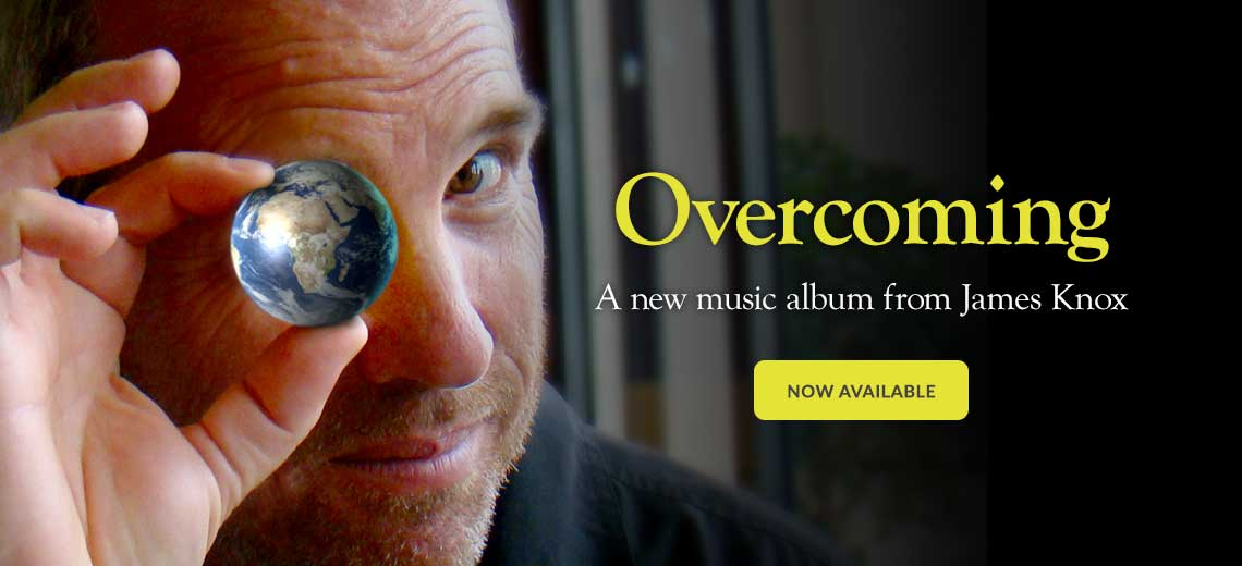 Overcoming - a new music album from James Knox