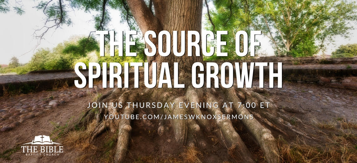 Join us for our online service Thursday evening at 7:00pm ET
